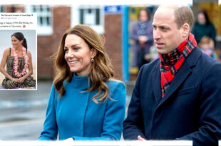 The Duke and Duchess Of Cambridge Wish Meghan A Happy 40th Birthday