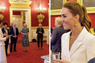 Duchess Kate Stuns in All White To Celebrate Her Latest Photography Project