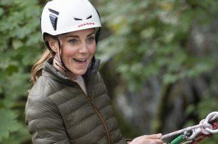 Kate Middleton Goes Abseiling And Mountain Biking During Fun Cumbria Trip