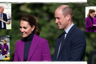 Prince William and Kate Middleton meet students in Northern Ireland