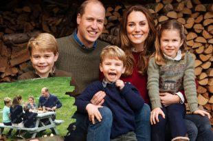 The Cambridge Family Seen Enjoying Pub Lunch