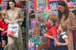 Duchess Kate Spotted Shopping With Kids, They Are All Grown Up!