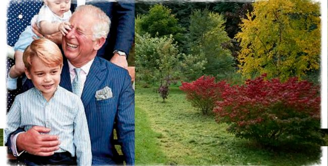 Prince Charles Named An Autumn Garden After His Eldest Grandchild, Prince George