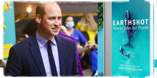 A New Book About Prince William's Ambitious Earthshot Prize Is A Bestseller!