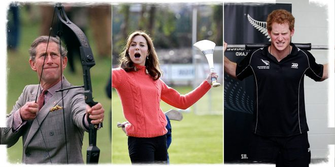 Some Hilarious Photos Of Royals Doing Sport - The Most Priceless Faces