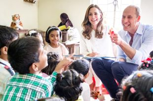 William And Kate Held A Meeting With SOS Children's Village In Pakistan